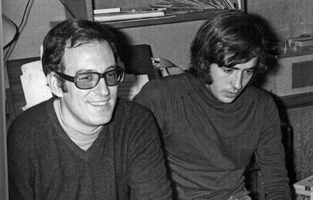 Augusto Algueró y Joan Manuel Serrat