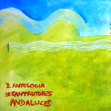Portada del disco «I Antología de Cantautores Andaluces».