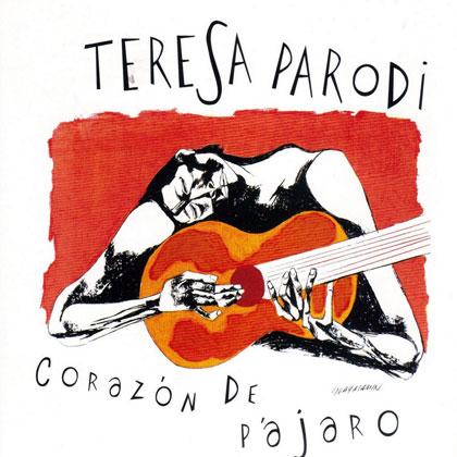Portada del disco «Corazón de pájaro» de Teresa Parodi.