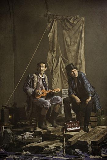 Albert Pla y Pascal Comelade © David Ruano