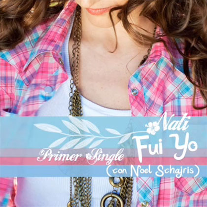 Portada del single «Fui yo» de Nati