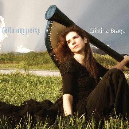 Portada del CD «Feito um Peixe» de Cristina Braga.