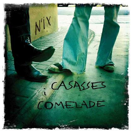Portada de «N'ix» de Pascal Comelade y Enric Casasses.