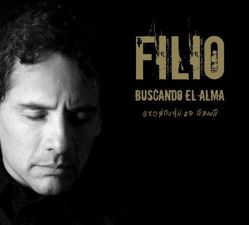 Portada del CD «Buscando el alma» de Alejandro Filio.