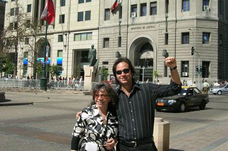 Isabel Parra y Roberto Trenca.