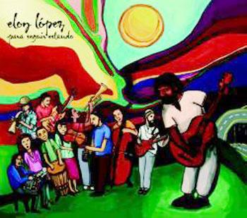 Portada del CD «Para seguir estando» de Eloy López.