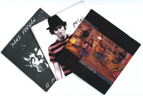 CD de Los Tres en Raya