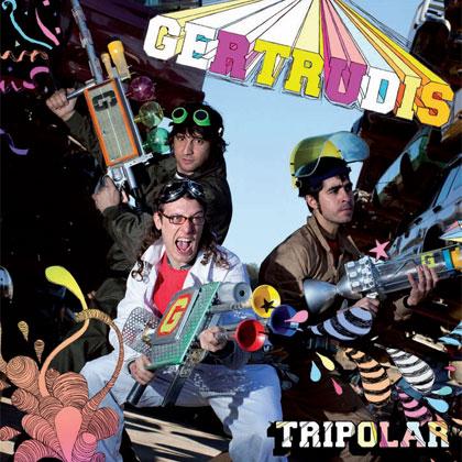 Portada del CD «Tripolar» de Gertrudis.