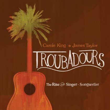 Portada del documental «Troubadours - The Rise of the Singer-Songwriter»