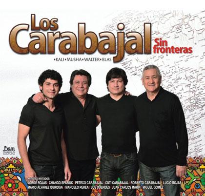 Portada del CD «Sin fronteras» de Los Carabajal.