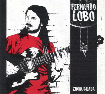 Portada del CD «Encrucijadas» de Fernando Lobo.