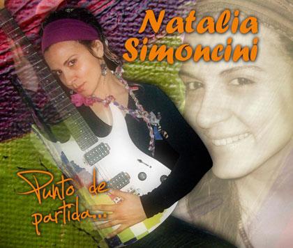 Portada del CD «Punto de Partida» de Natalia Simoncini.