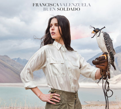 Portada del CD «Buen soldado» de Francisca Valenzuela