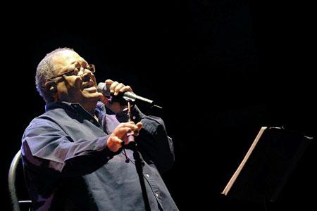 Pablo Milanés en Santiago de Chile