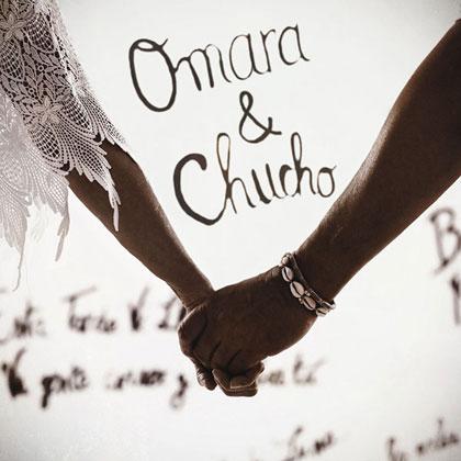 Portada del disco «Omara & Chucho» de Omara Portuondo y Chucho Valdés.