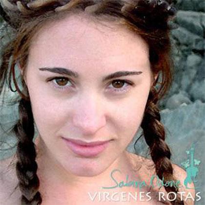 Portada del disco «Vírgenes rotas» de Sabina Odone.