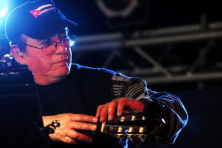 Silvio Rodriguez en La Hata en enero de 2011. © Iván Soca