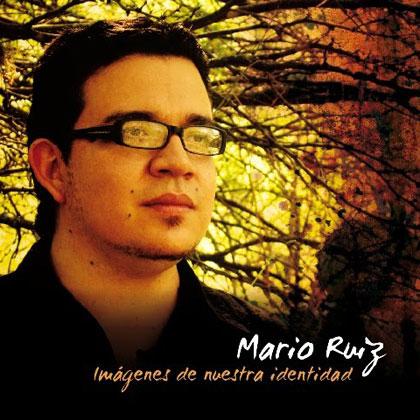 Portada del CD «Imágenes de nuestra identidad» de Mario Ruiz