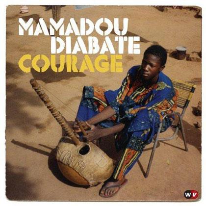 Portada del CD «Courage» de Mamadou Diabate