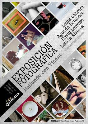 Cartel de la exposición fotográfica.