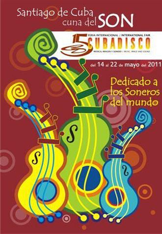Cartel de la Feria Internacional Cubadisco 2011