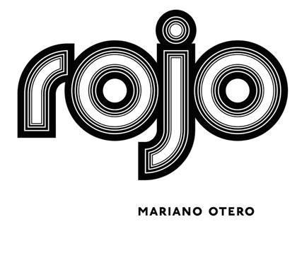 Portada del CD «Rojo» de Mariano Otero