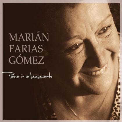 Portada del CD «Para ir a buscarte» de Marián Farias Gómez.