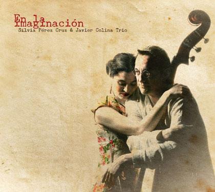 Portada del CD «En la imaginación» de Sílvia Pérez Cruz y Javier Colina Trío