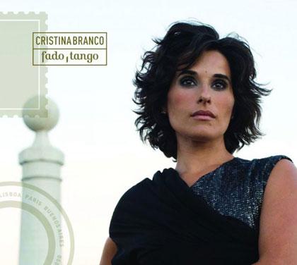 Portada del CD «Fado, tango» de Cristina Branco.