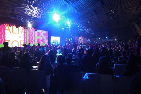 Ceremonia de entrega de los Premios Altazor 2011
