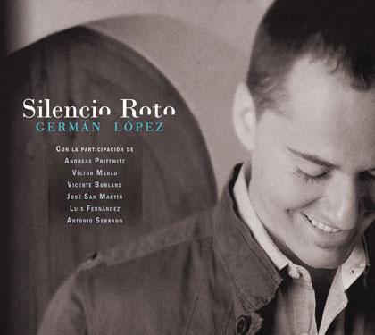 Portada del CD «Silencio roto» de Germán López.