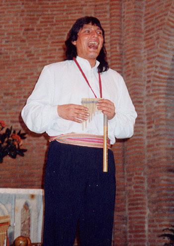 Marco Antonio García Cossío, fundador del grupo Alturas.