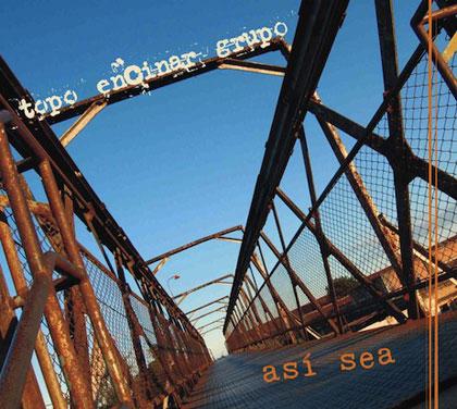Portada del CD «Así sea» de Topo Encinar Grupo.