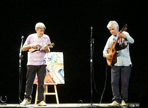 Luis Pastor y Kiko Veneno. © María Gracia Correa