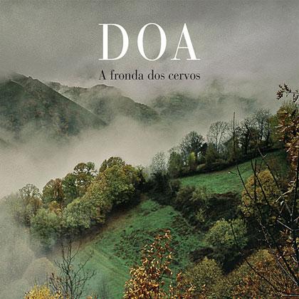 Portada del CD «A fronda dos cervos» de DOA