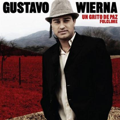 Portada del CD «Un grito de paz» de Gustavo Wierna.