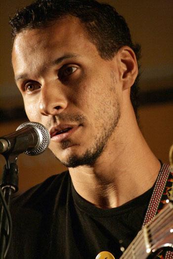 Gustavo Almeida, merecedor del segundo premio. © Paco Vázquez
