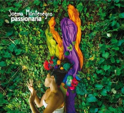 Portada del CD «Passionaria» de Soema Montenegro.