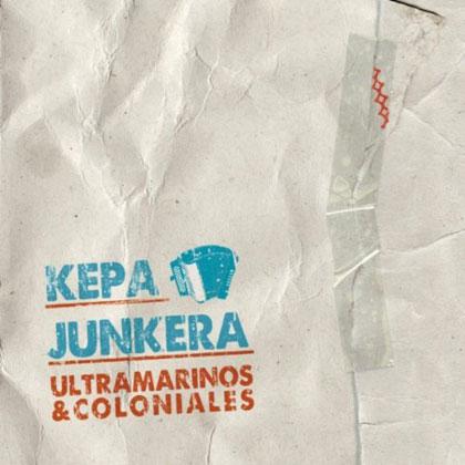 Portada del CD «Ultramarinos y coloniales» de Kepa Junkera.