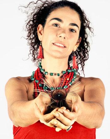 Natalia Contesse, quien ya actuó el pasado 10 de junio en el Metro de Santiago de Chile y volverá a hacerlo hoy, 21 de junio.