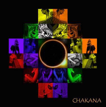 Portada del CD «Chakana» de Chakana Trío.