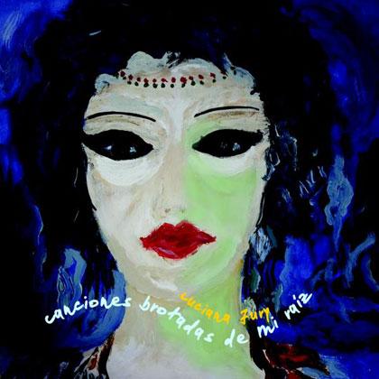 Portada del CD «Canciones brotadas de mi raíz» de Luciana Jury.