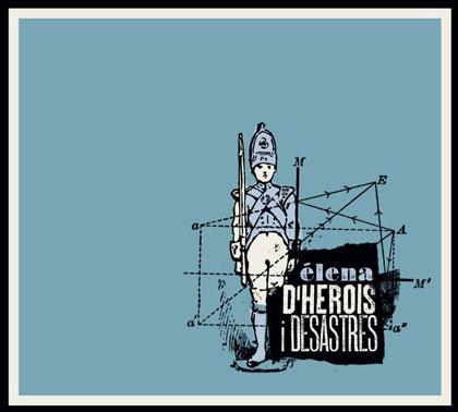Portada del CD «D'herois i desastres» de Élena