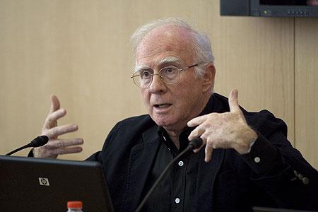 Eduardo Bautista, Presidente del Consejo de Dirección de la SGAE (Sociedad de Autores y Editores). © Xavier Pintanel