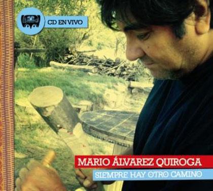 Portada del CD «Siempre hay otro camino» de Mario Álvarez Quiroga.