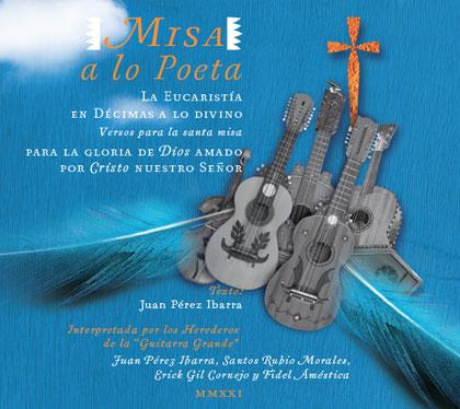 Portada del CD «Misa a lo Poeta».