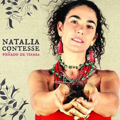 Portada del CD «Puñado de tierra» de Natalia Contesse.