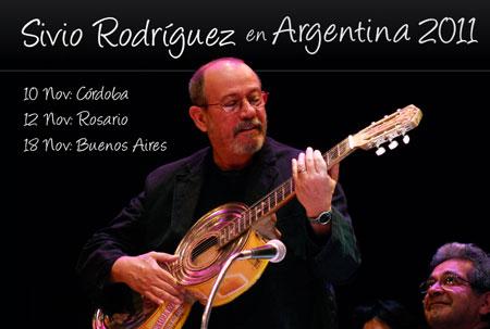 Silvio Rodríguez en Argentina 2011