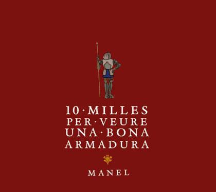 Portada del disco «10 milles per veure una bona armadura» de Manel