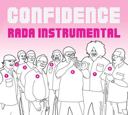 Portada del disco «Rada instrumental» de Rubén Rada.